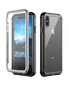 Full body rugged case - built in screen protector - iPhone XS MAX