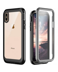Full body rugged case - built in screen protector - iPhone XS