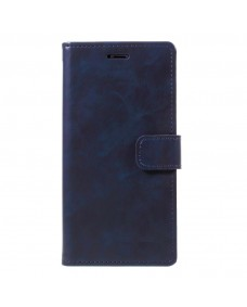 MyCase Leather Folder iPhone XS 5.8 - Blue