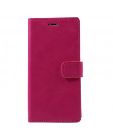MyCase Leather Folder iPhone XS 5.8 - Pink