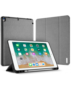 "Domo Leather Case For iPad 9.7"" Grey"