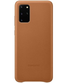 Galaxy S20+ Leather Cover - Brown