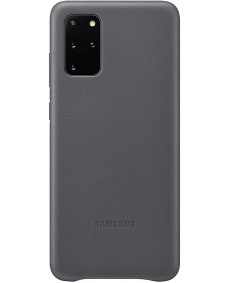 Galaxy S20+ Leather Cover - Grey