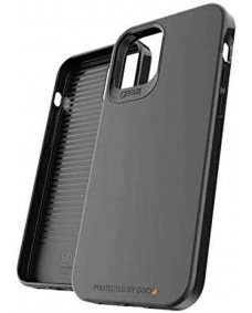 "Gear4 D30 Holborn Case Slim Case suits iPhone 12 Pro Max 6.7"" - Black"