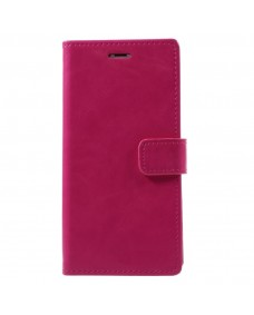 MyCase Leather Folder iPhone XR 6.1 - Pink