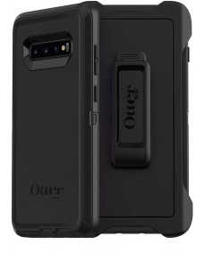 "OtterBox Defender Case For Samsung Galaxy S10+ (6.4"") - Black"