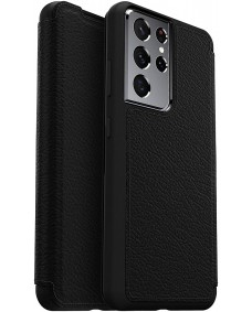 Otterbox Strada Case suits Samsung Galaxy S21 Ultra 5G - Black