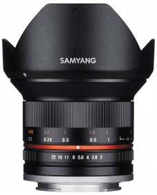 Samyang 12mm f/2.0 NCS CS Black (Fuji X)