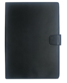 MyCase Leather Wallet New iPad Black