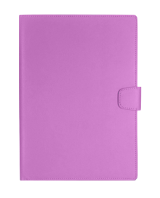 MyCase Leather Wallet New iPad Purple