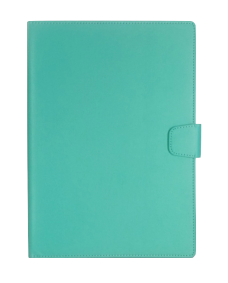 MyLeatherWalletCase iPad 2,3,4 Tiffany Blue