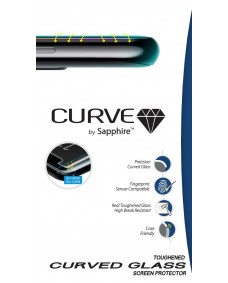 Sapphire Tempered Glass Screen Protector - curved - Samsung S20+