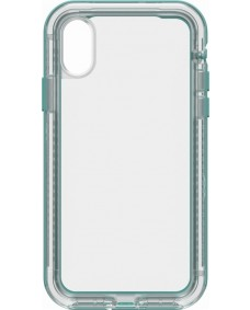 LifeProof Next Case suits iPhone X - Clear/Aquifer