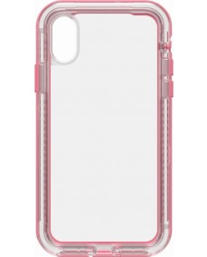 LIFEPROOF NEXT CASE SUITS IPHONE X - CLEAR/ROSE