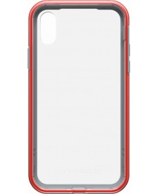 LIFEPROOF SLAM CASE SUITS IPHONE X - CLEAR/CHERRY/SLEET