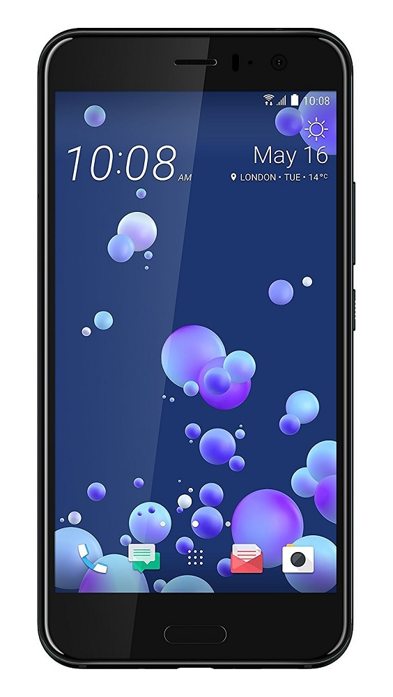 HTC U11 Dual Sim (2nd SIM only 2G)* U-3u 4G 128GB Black
